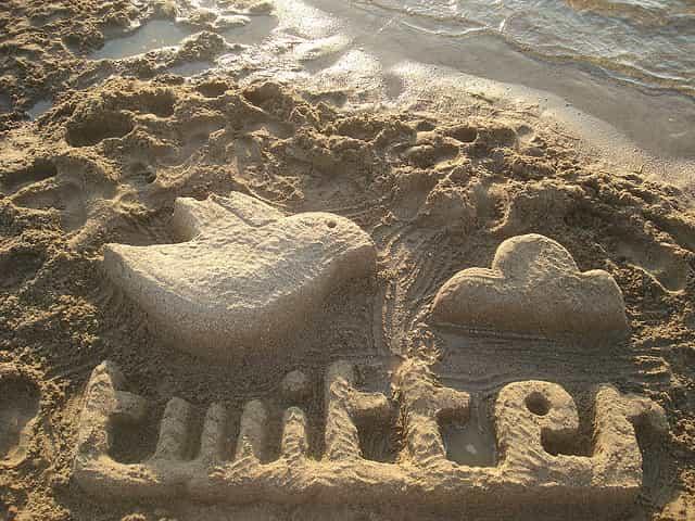 浜辺とTwitter