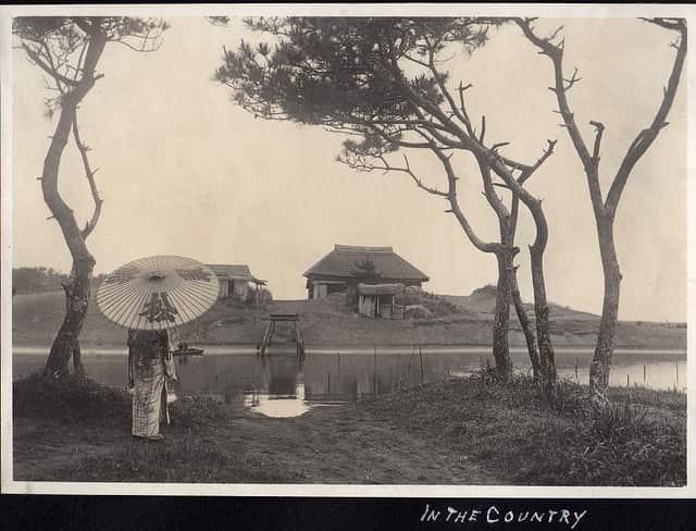 昔の日本風景