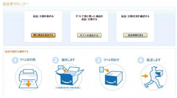 Amazon返品受付センター