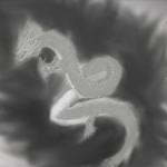 「デジタル」 水墨画風で龍を描いてみた!水墨画・墨絵・大和絵・唐絵の違い