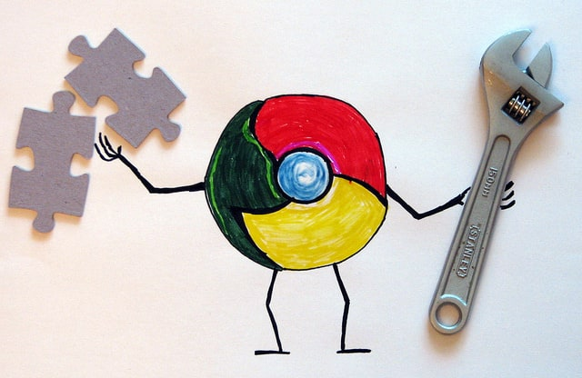 Chrome キャラクター