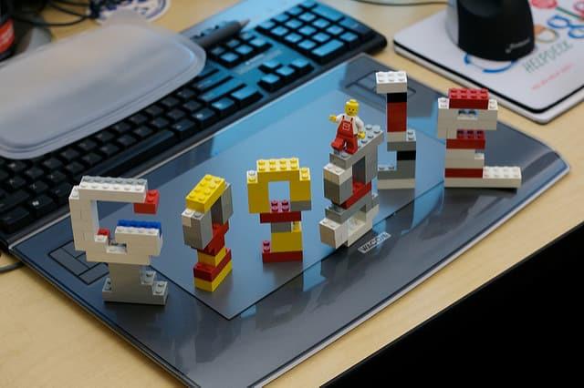 レゴ・ブロック Google