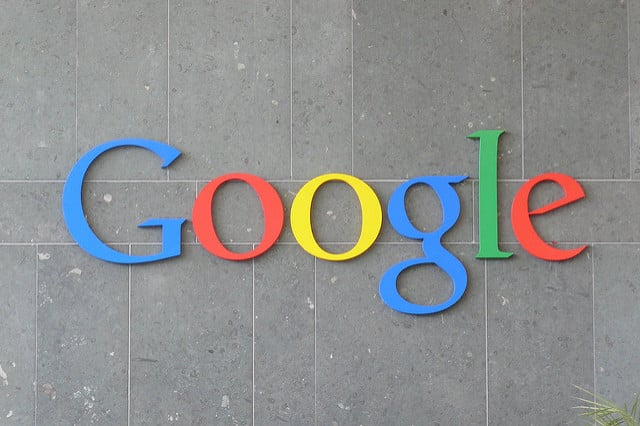 Googleロゴ 写真