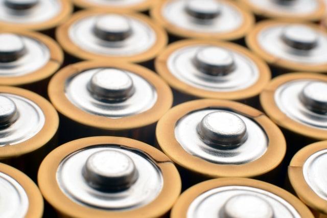 乾電池が沢山