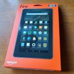 「Amazon Fireタブレット8GB」で画面キャプチャ(スクリーンショット)する方法