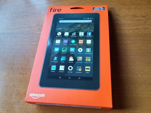 Amazon Fireタブレット8GB