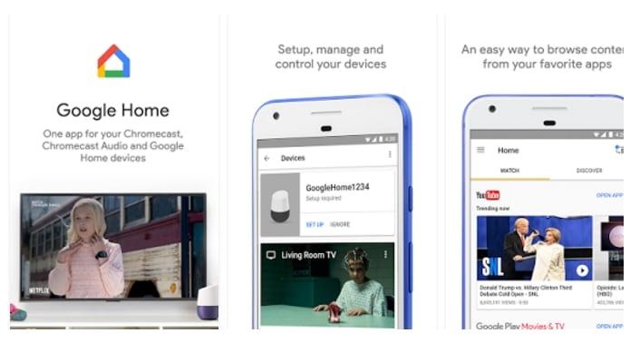 Google Home画像