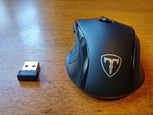 マウス本体とUSB - Qtuo 2.4G